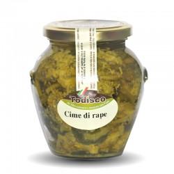 Cime di Rape sott'olio