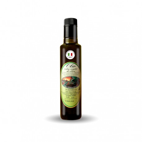 Olio Extraergine di oliva black bottle da 250 ml