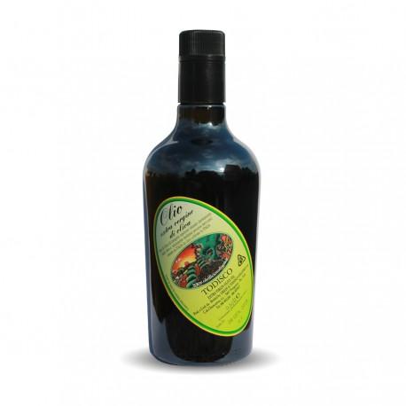 Olio Extravergine di Oliva Estratto a freddo Bottiglia 0,5 Lt
