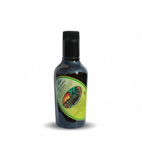Olio Extravergine di Oliva Estratto a freddo Bottiglia 0,25 Lt